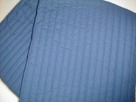 Blå springmadras 70x190
