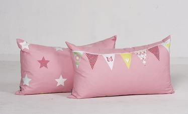 2 stk. puder flags and stars