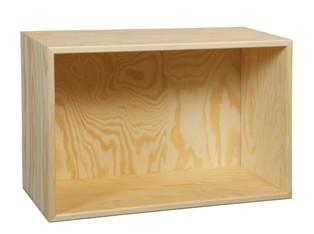 Bogkasse 45x30x19 cm, med 1 rum