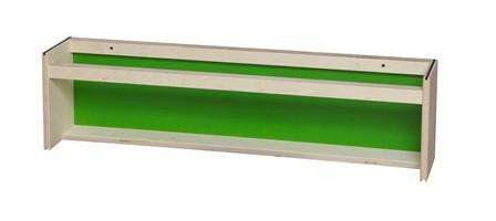Lav bogrække grøn 70x13x18 cm