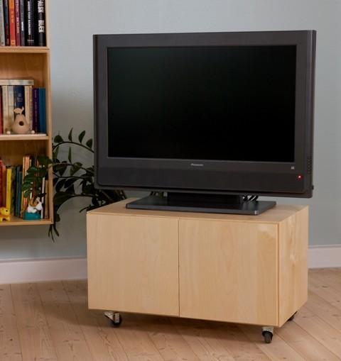 kubik tv bord vogn. Black Bedroom Furniture Sets. Home Design Ideas