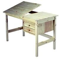 Find det helt rigtige arbejdsbord der passer til dig (foto traevarer.dk)