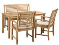 Lyngstrup havemøbelsæt i teak