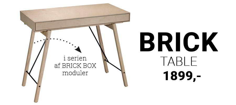 Brick Table