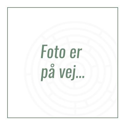 Svensk hvid hylde 60 x 20 cm