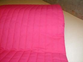 Pink latexmadras 70x190 cm