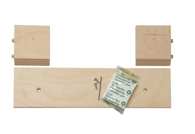 Lille ophængsliste til alle reoler i dybde 19 og 32 cm, samt birk og eg i 40 cm dybde (til B35 cm.)