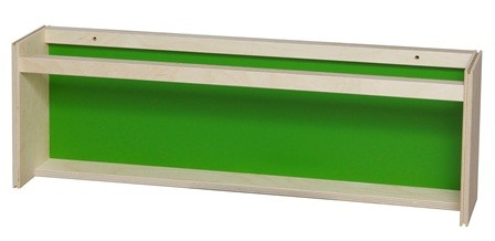 Mellem bogrække grøn 70x13x24 cm