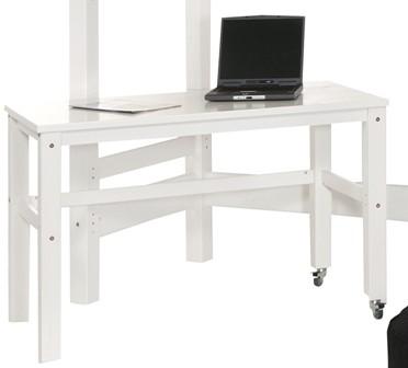 Skrivebord med hjul
