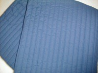 Blå latexmadras 70x190 cm