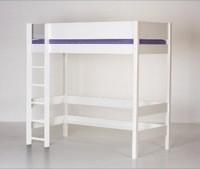 Højseng (køjeseng), hvid (90x200)